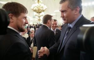 Сергей Аксенов в Чеченской республике