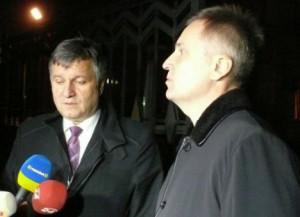 """Аваков и Наливайченко в Крыму в феврале прошлого года. Их приезд был подан жовтоблакитной пропагандой как попытка """"успокоить"""" полуостров. На самом деле они прибыли с другими целями. Через месяц Крым обрел свободу."""
