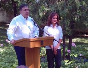 """Саакашвили не доверяет Гайдар на 100%. В 2008 году она назвала его """"отвратным"""""""