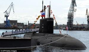 Подлодка Северного флота ожидается в распоряжении ЧФ 25 сентября