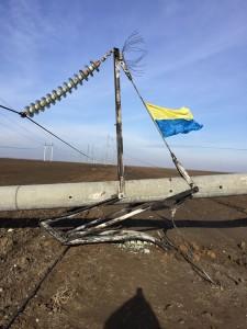 Жовтоблакитный прапор продолжает угрожать Крыму. Против полуострова проводятся диверсии