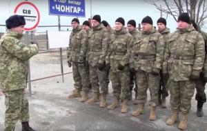 Каратели на границе с Крымом одеты в турецкую форму