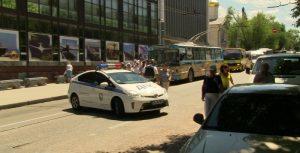 Район расположения ЗК Севастополя был перекрыт вчера полицией более двух часов