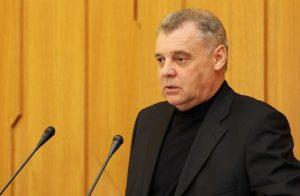 Председатель крымского Избиркома Михаил Малышев