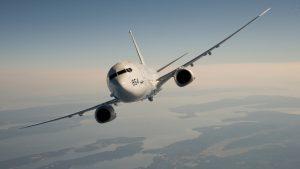 Со вторника по четверг у берегов Крыма совершали полеты девять американских самолетова. Boeing P-8A Poseidon подлетел к Севастополю на 70 км