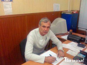 """Главный редактор алуштинской """"Твоей газеты"""" Алексей Назимов"""