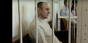 Геннадий Басов на скамье подсудимых
