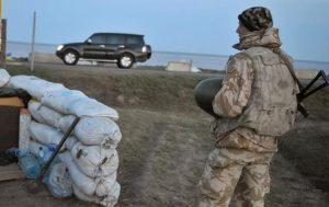 Крым находится под угрозой украинских диверсантов