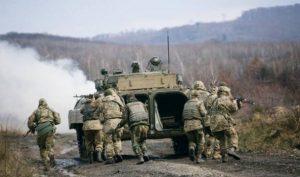 Киев бряцает оружием на горном полигоне в Закарпатье