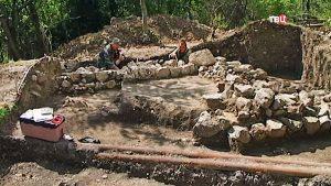 Раскопки в Артеке