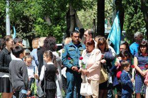 Траурный митинг в Севастополе 18 мая 2017 г. по случаю Дня депортации,